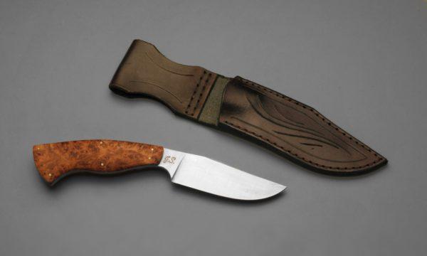 Customized Hunting Maple PRG Sheath Knife