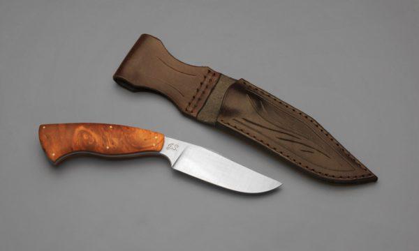 High Carbon Maple PRG II Sheath Knife