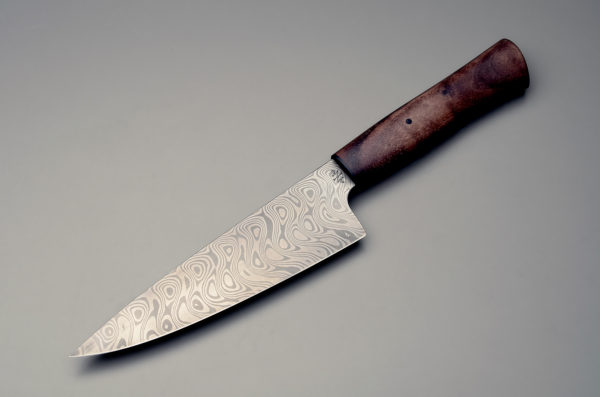 "7"" Damascus Steel Chef's Knife"